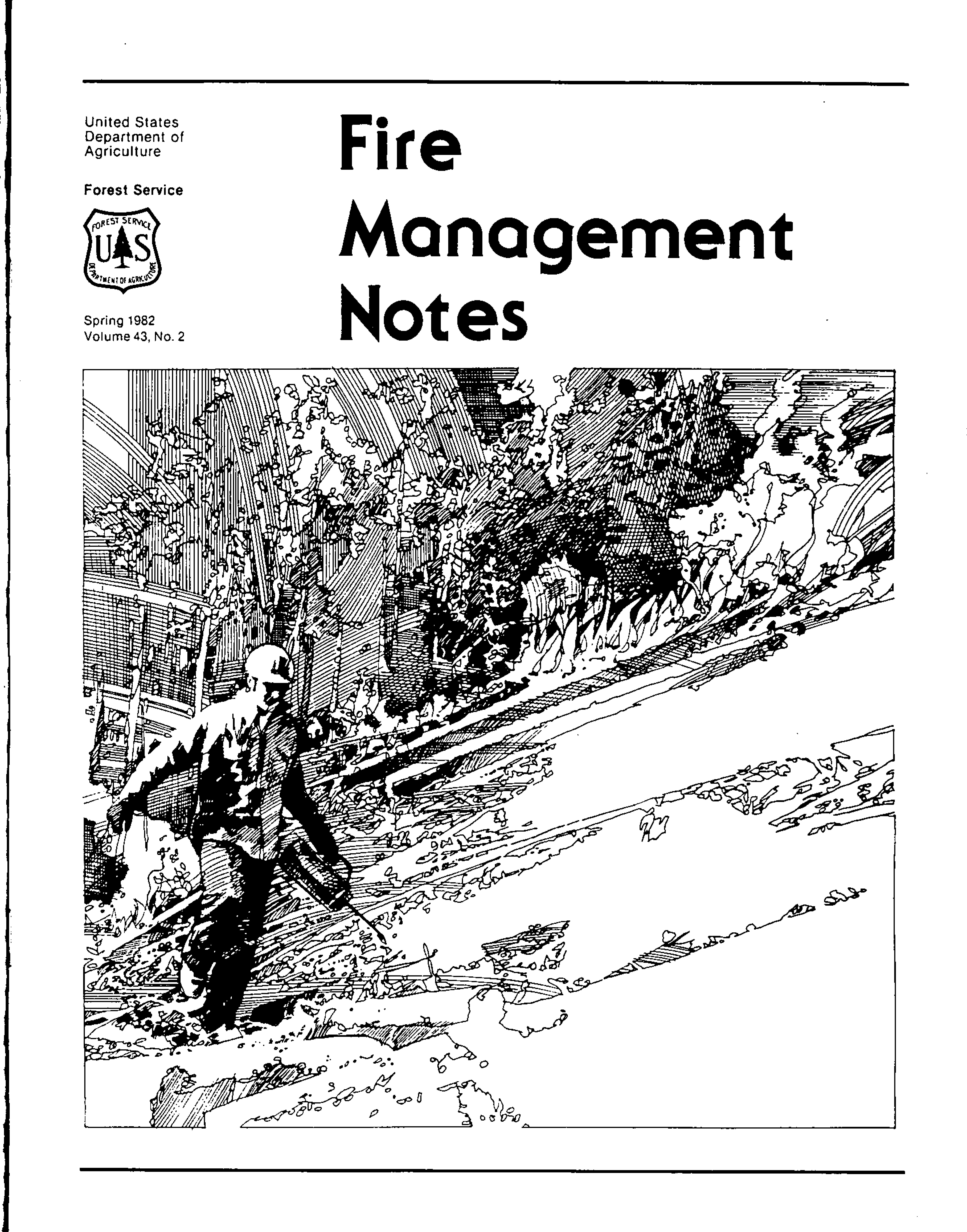Cover of Fire Management Today Volume 43, Issue 02