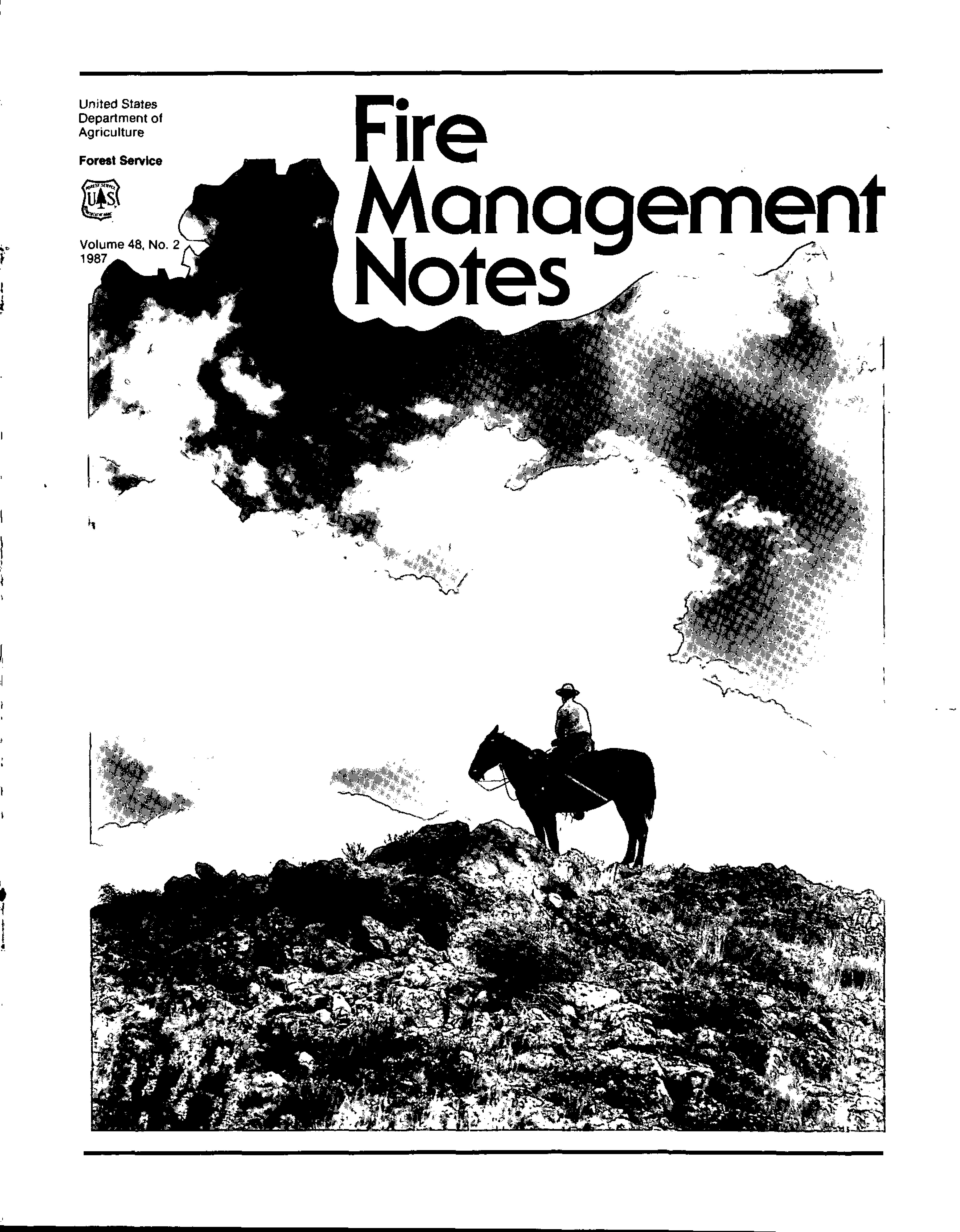 Cover of Fire Management Today Volume 48, Issue 02