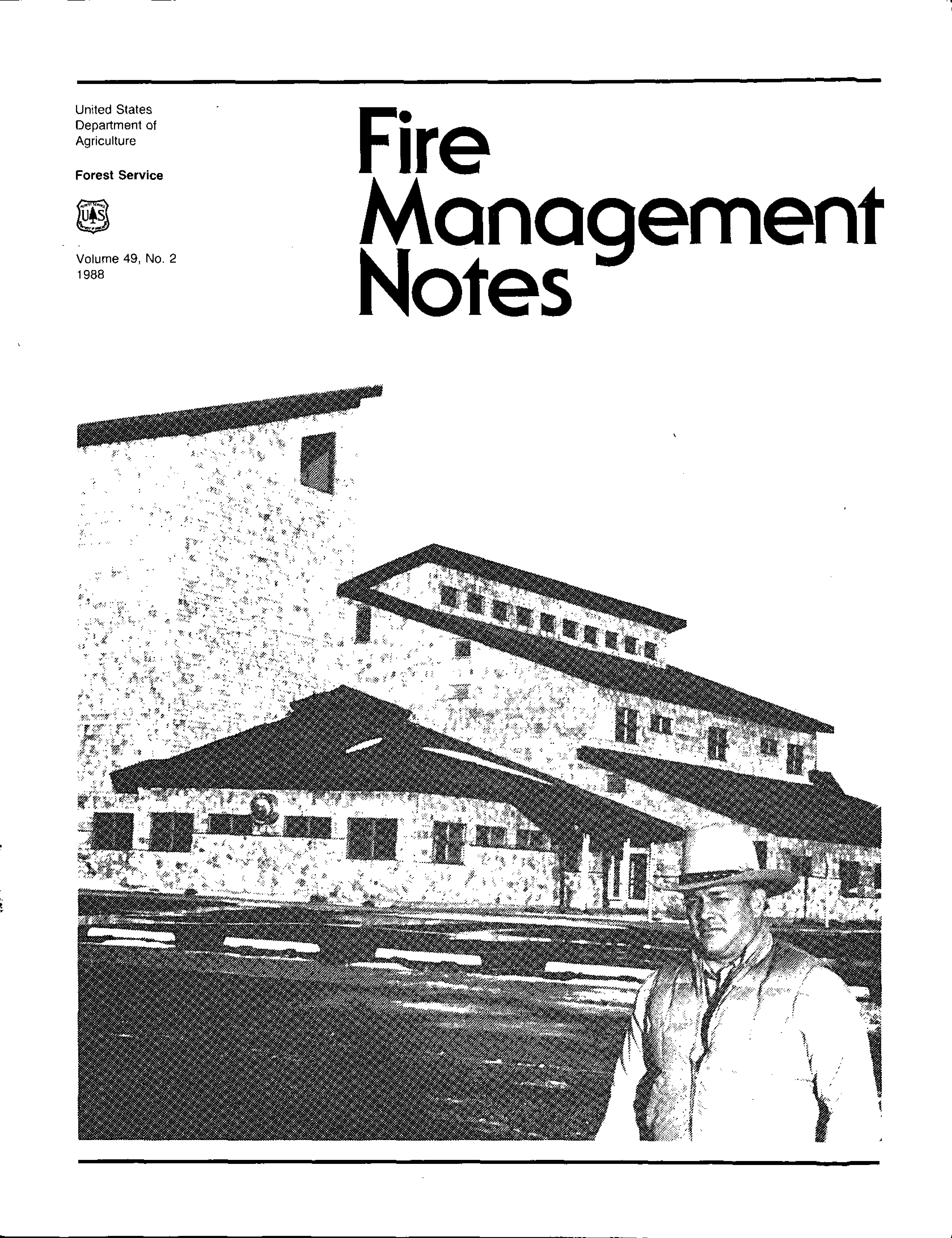 Cover of Fire Management Today Volume 49, Issue 02