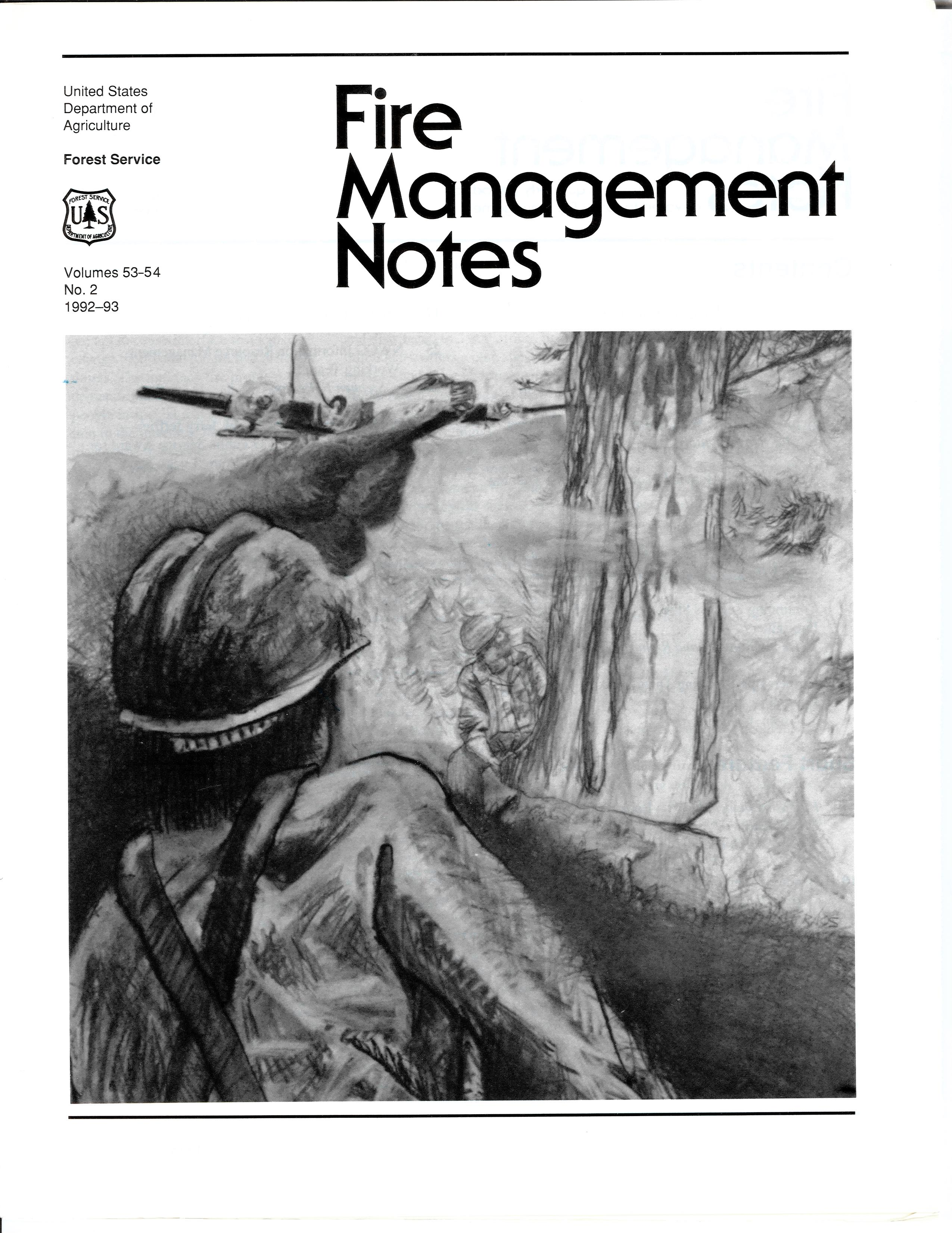 Cover of Fire Management Today Volume 53-54, Issue 02