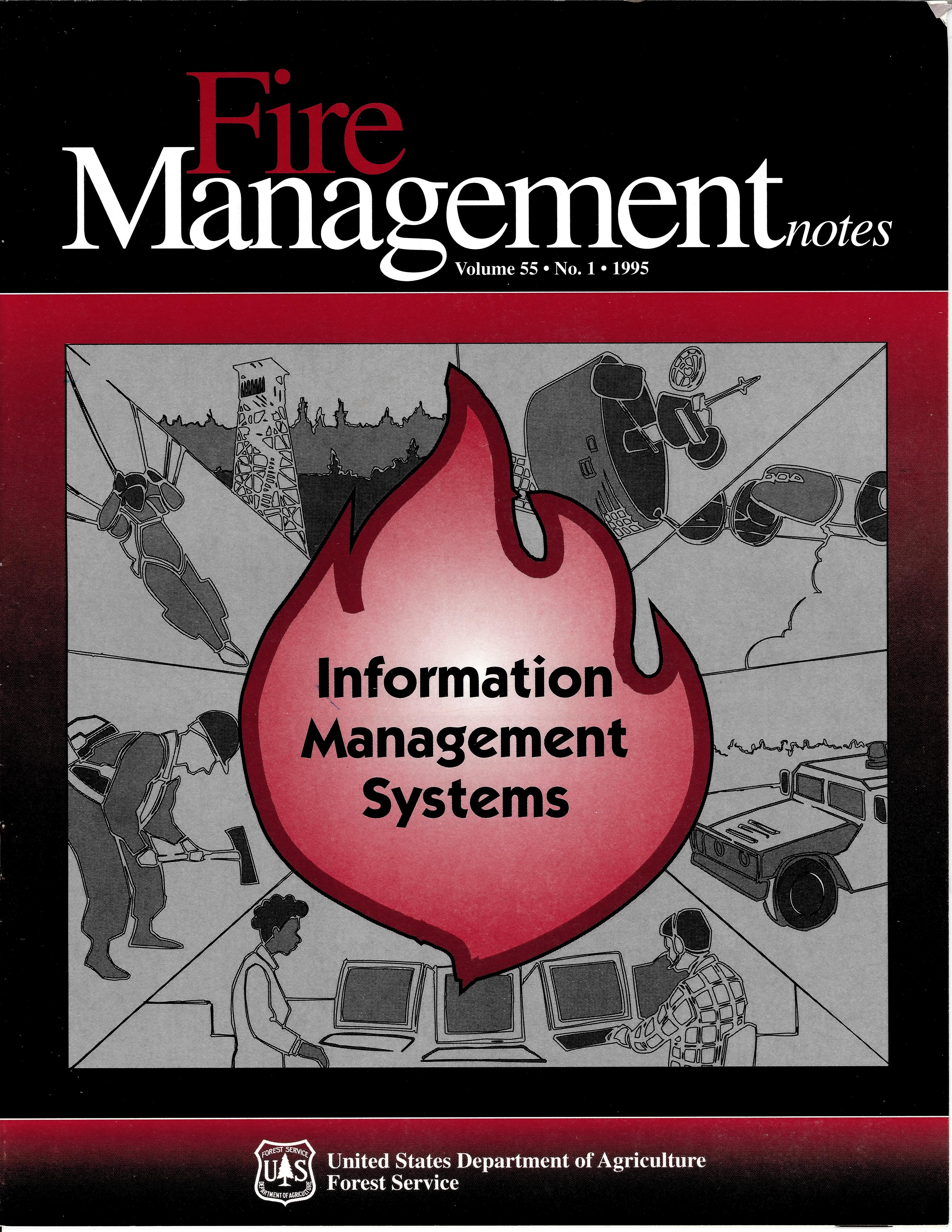 Cover of Fire Management Today Volume 55, Issue 01