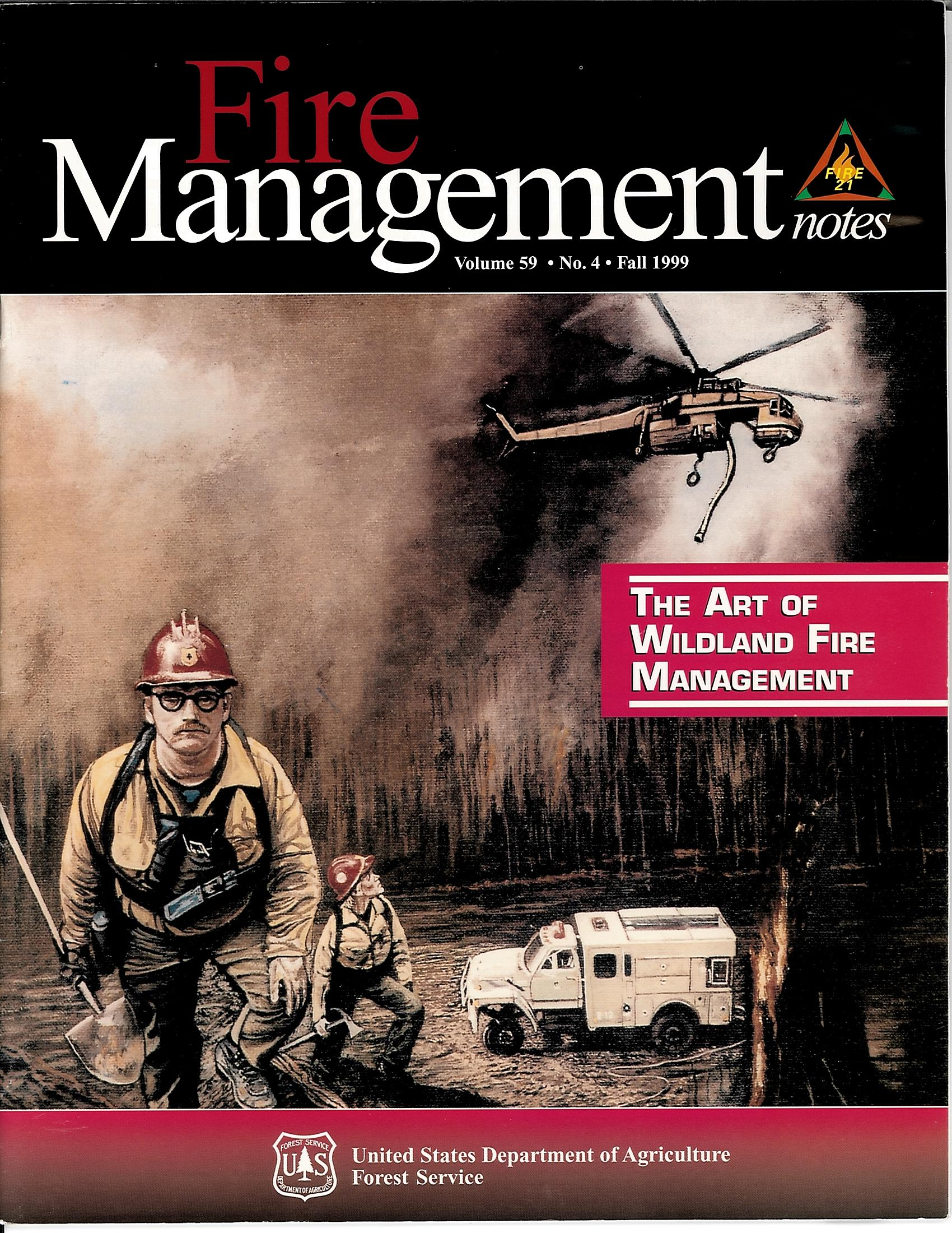 Cover of Fire Management Today Volume 59, Issue 04