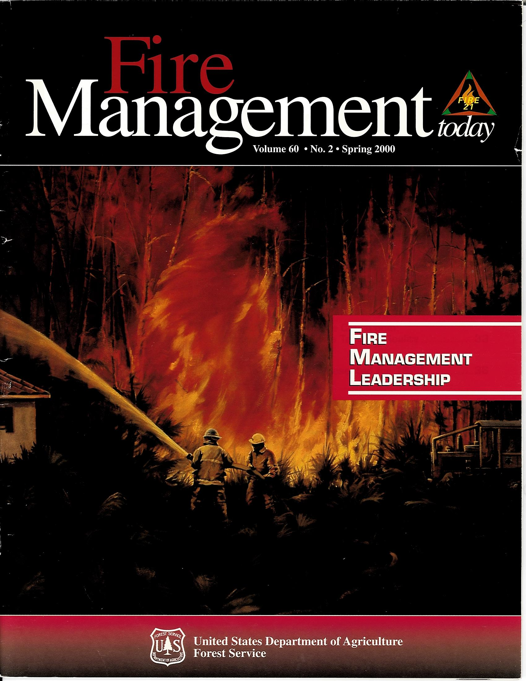 Cover of Fire Management Today Volume 60, Issue 02