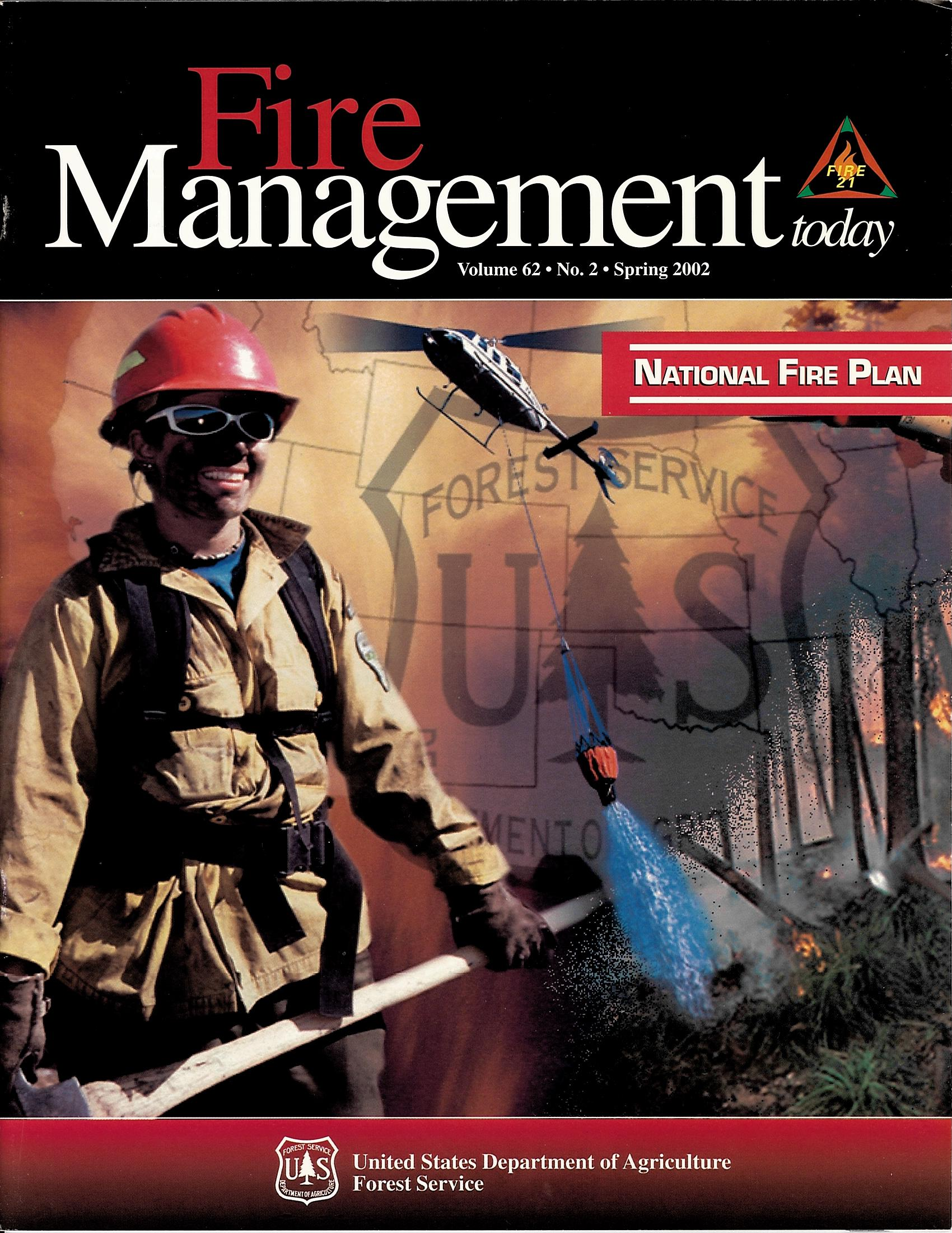 Cover of Fire Management Today Volume 62, Issue 02