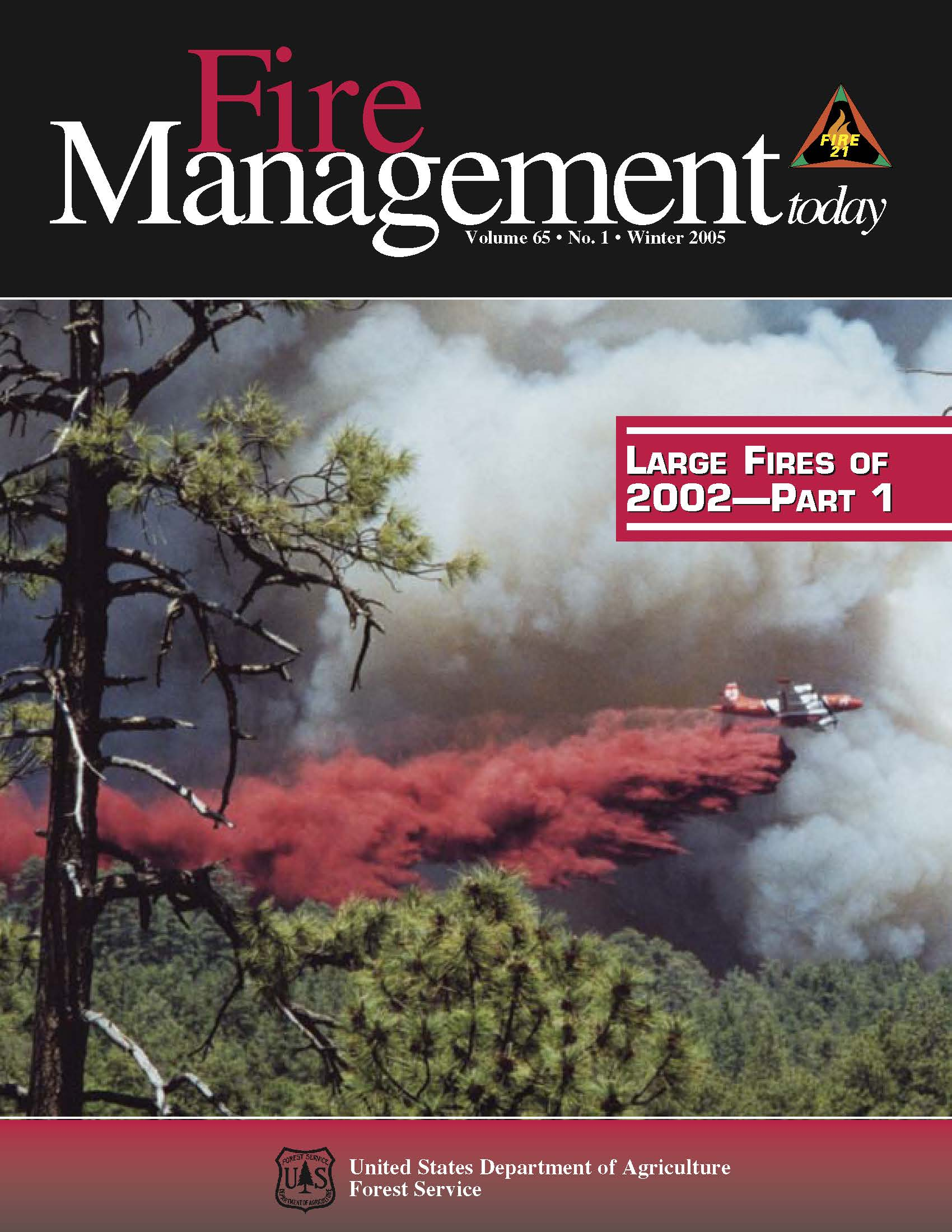 Cover of Fire Management Today Volume 65, Issue 01
