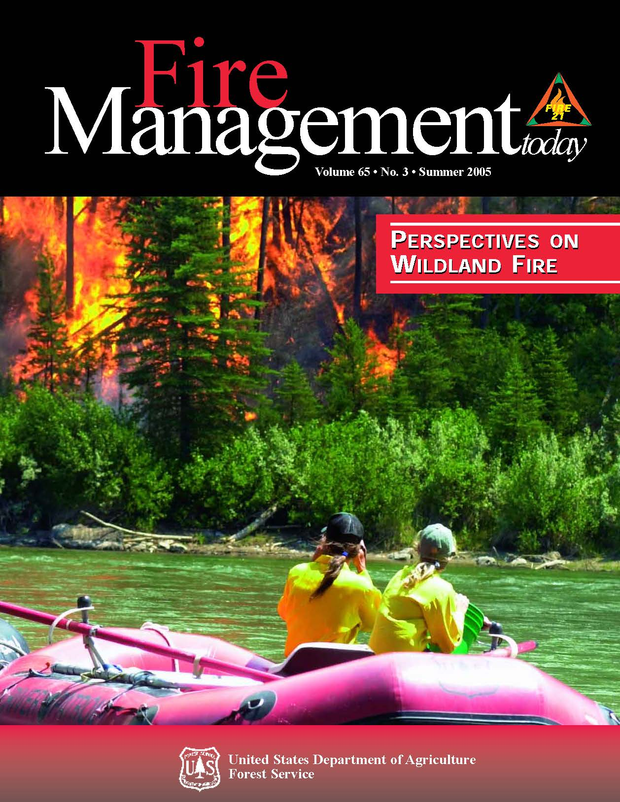 Cover of Fire Management Today Volume 65, Issue 03