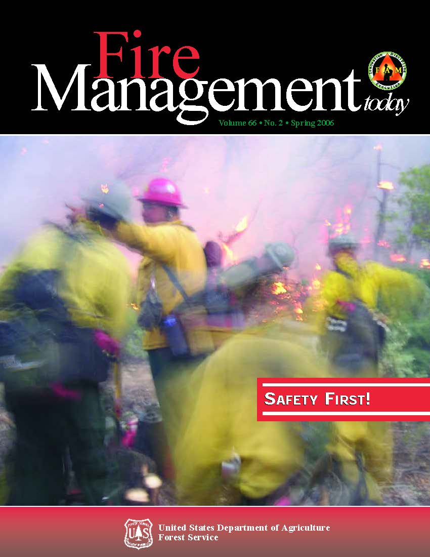 Cover of Fire Management Today Volume 66, Issue 02
