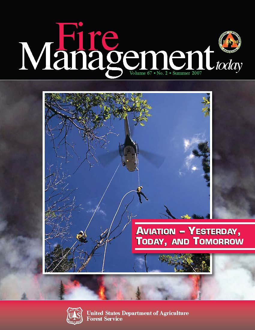 Cover of Fire Management Today Volume 67, Issue 02