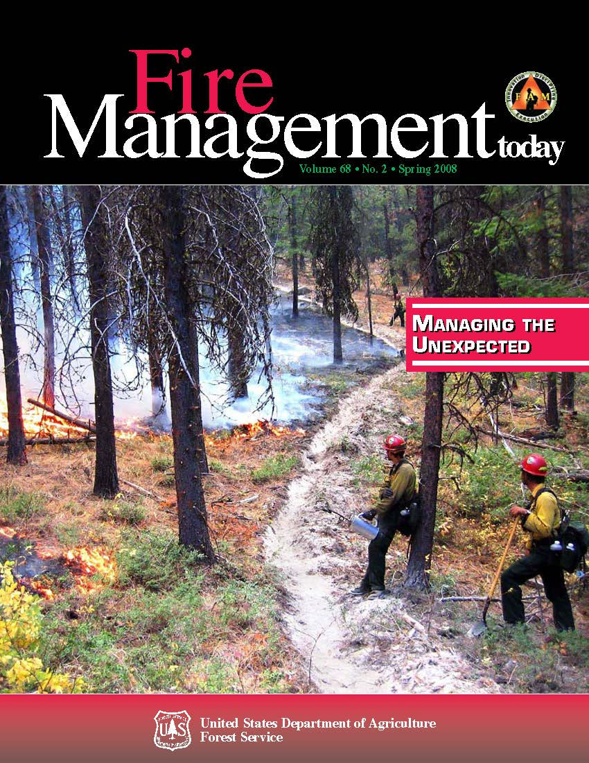 Cover of Fire Management Today Volume 68, Issue 02