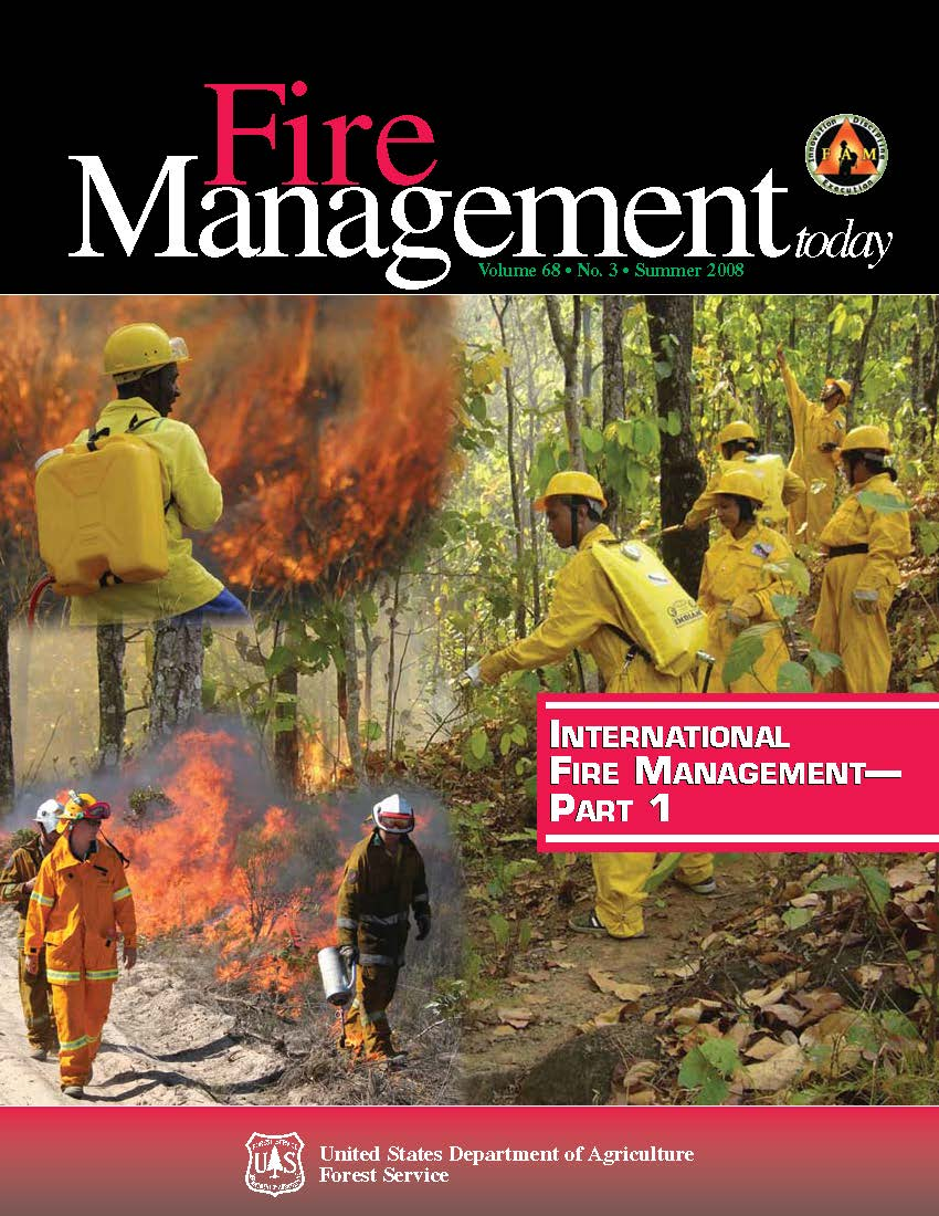 Cover of Fire Management Today Volume 68, Issue 03