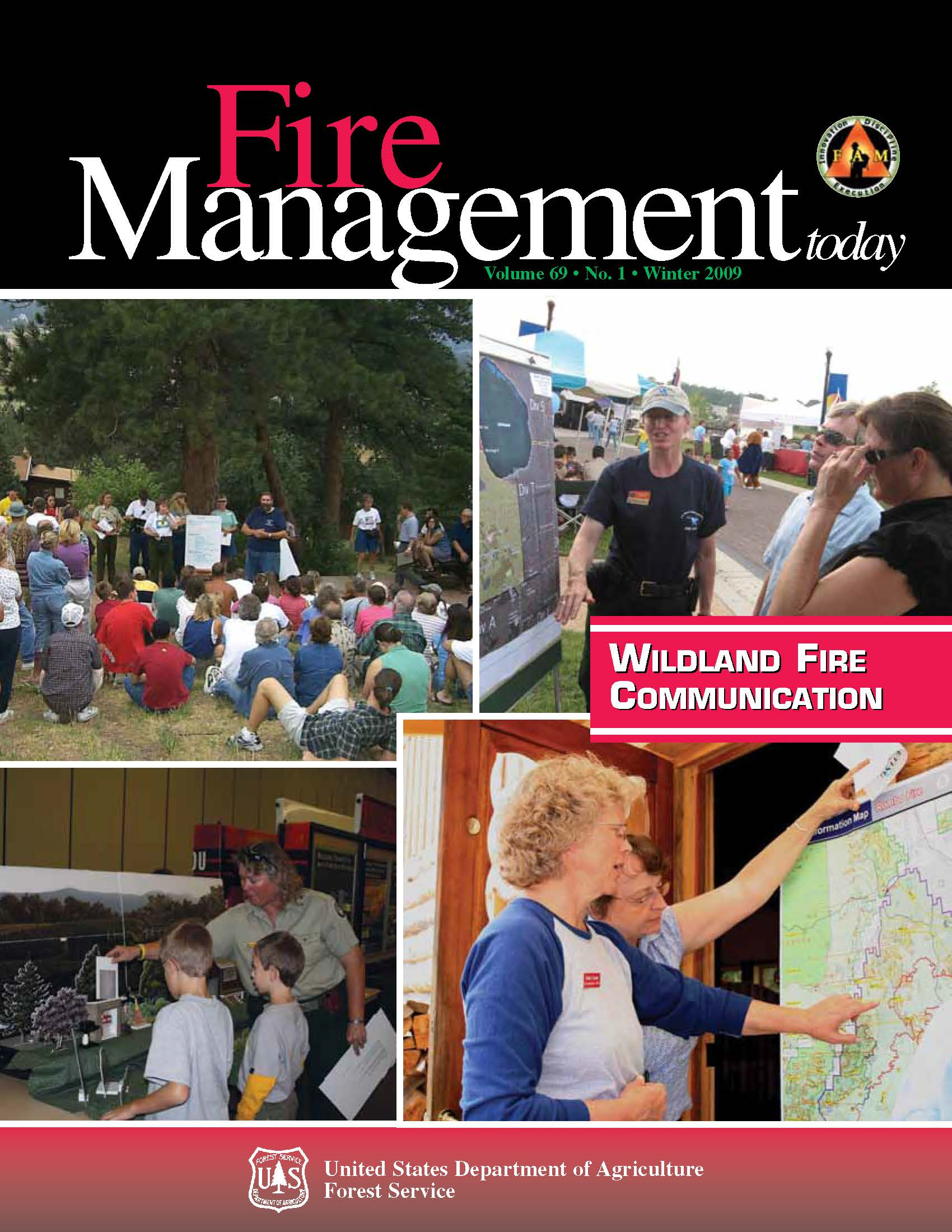Cover of Fire Management Today Volume 69, Issue 01