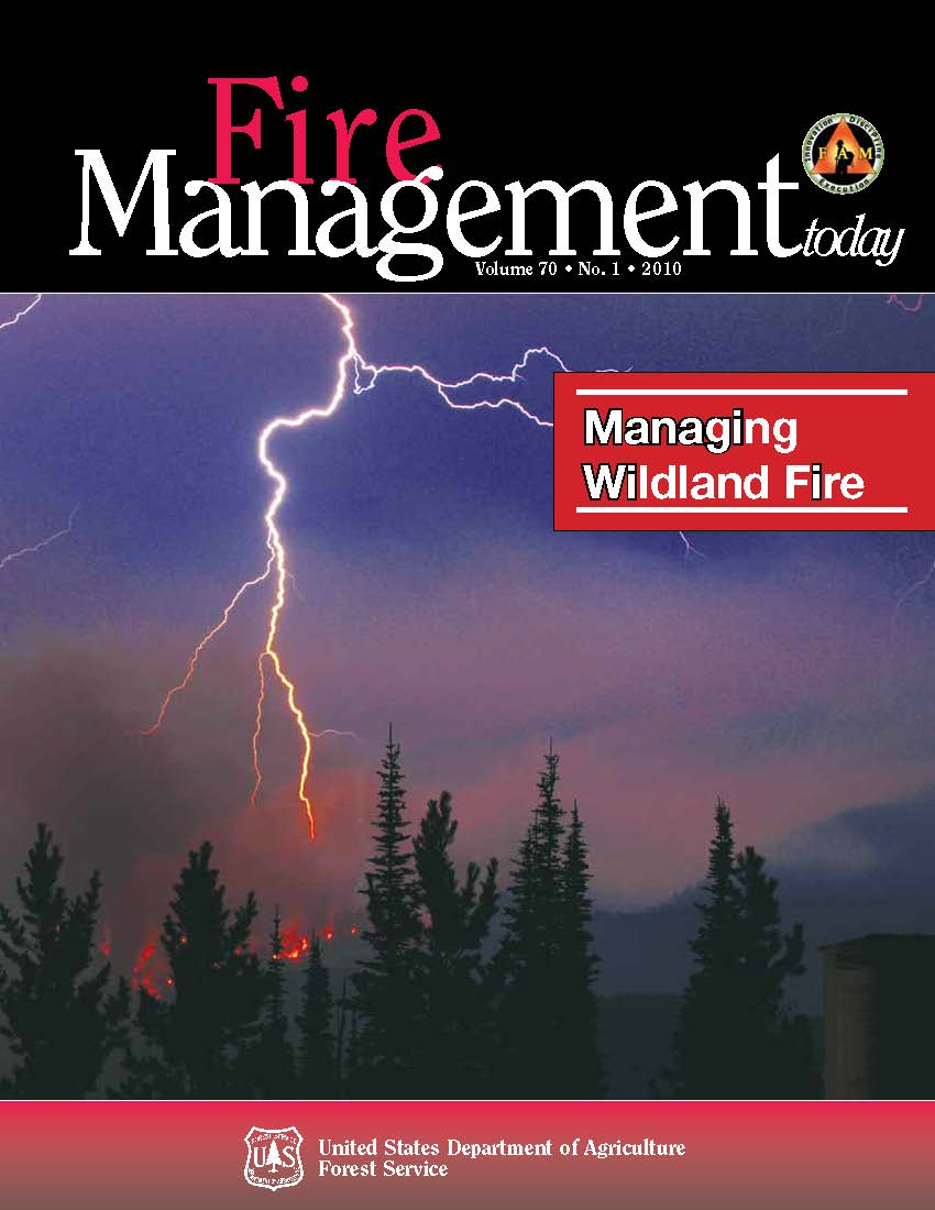 Cover of Fire Management Today Volume 70, Issue 01