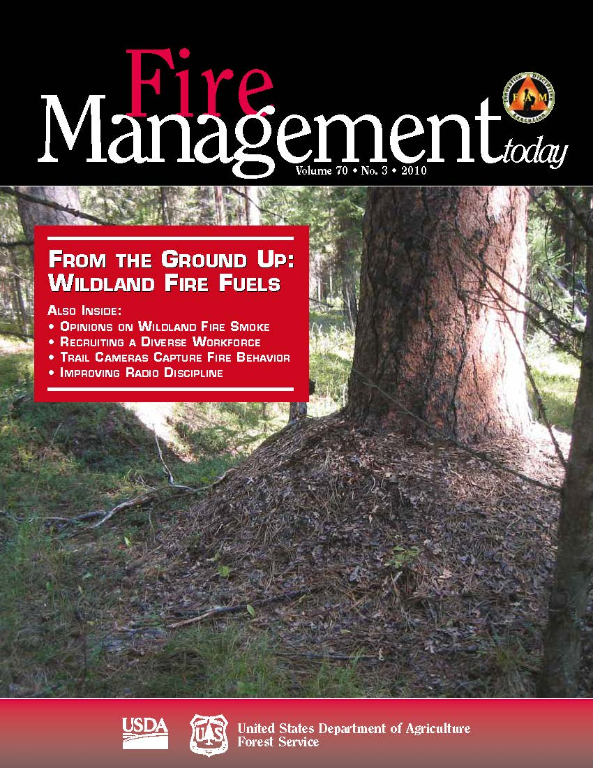 Cover of Fire Management Today Volume 70, Issue 03