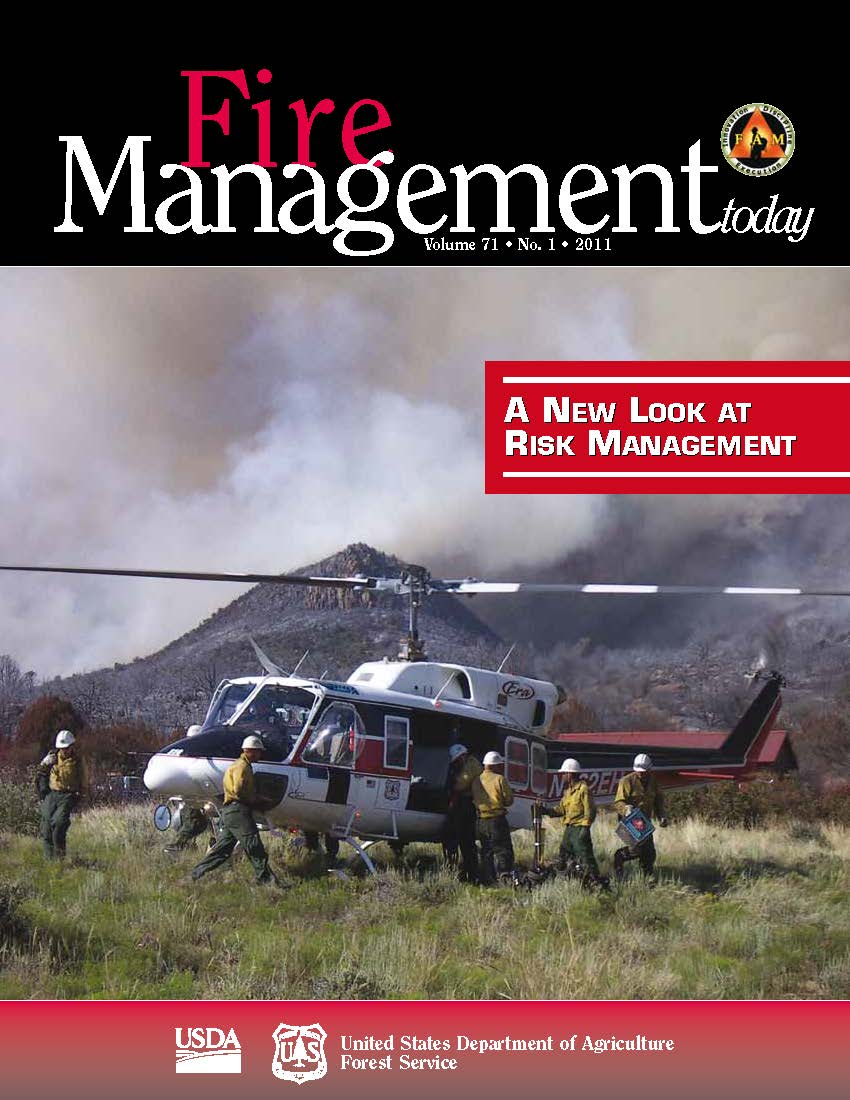 Cover of Fire Management Today Volume 71, Issue 01