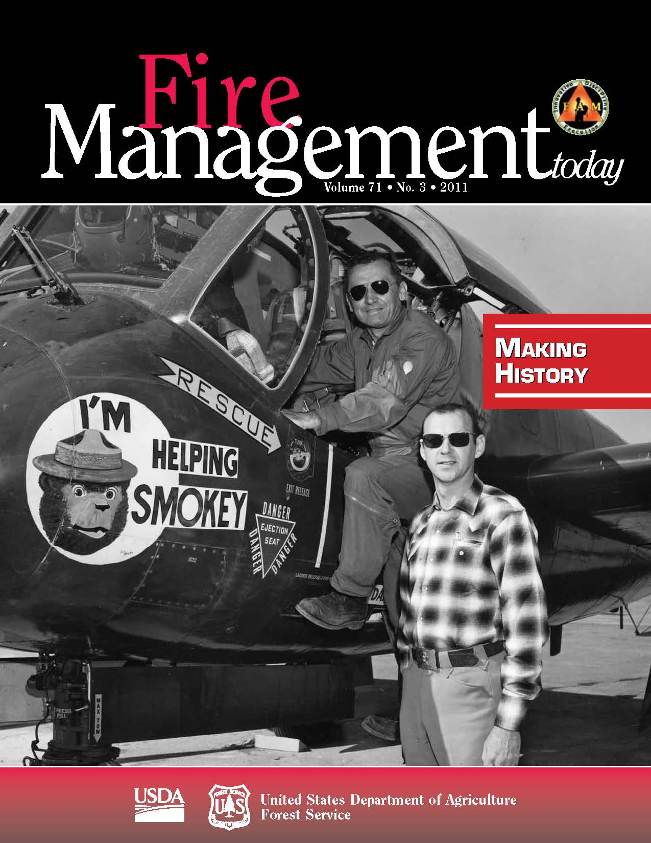 Cover of Fire Management Today Volume 71, Issue 03