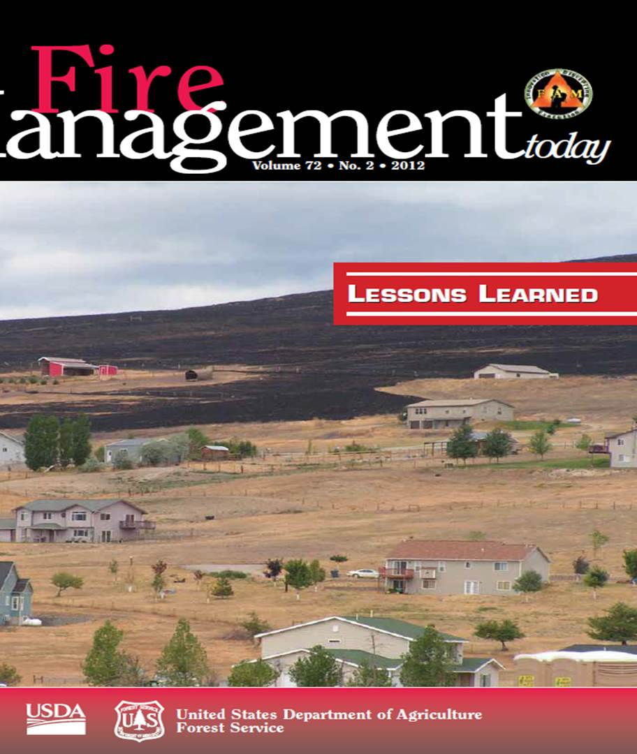 Cover of Fire Management Today Volume 72, Issue 02