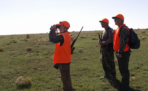 hunting-be seen wearing orange
