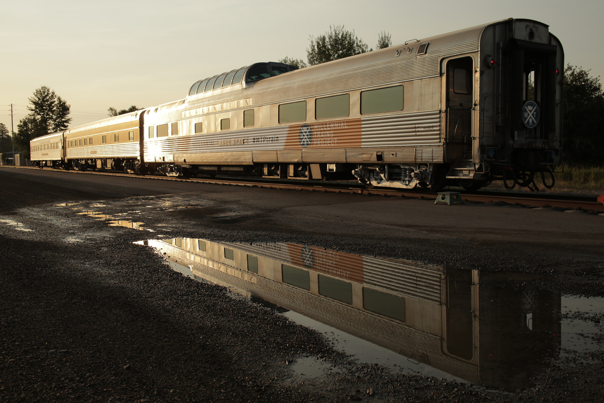 An image of a transcontinental train.