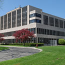 A photo of the Forest Products Laboratory in Madison Wisconsin.