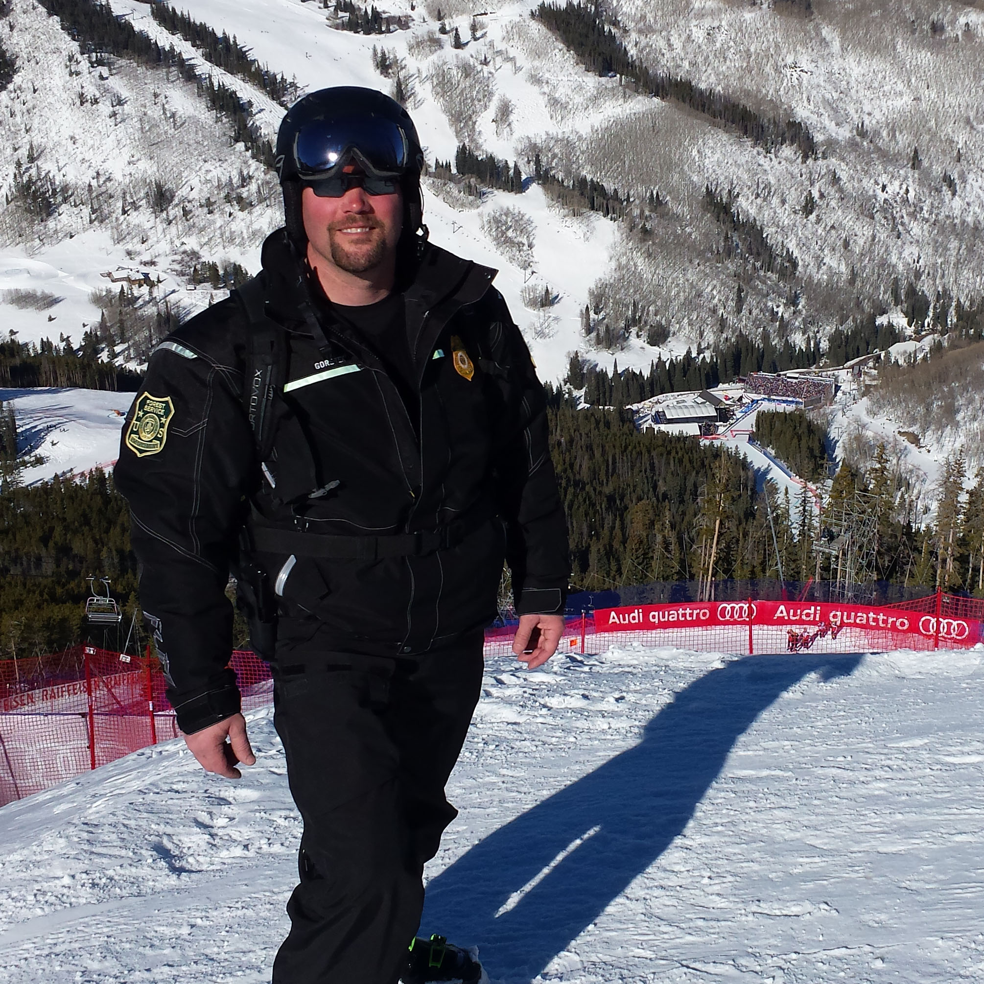 Special Agent Travis Lunders poses for a photo. (U.S. Forest Service photo)
