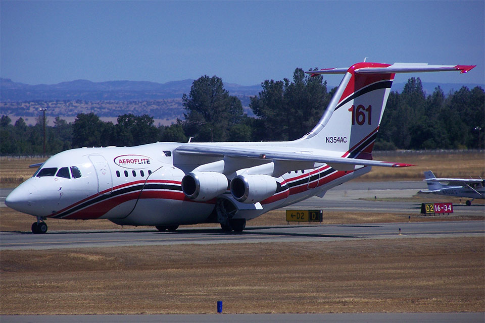 A photo of a next generation airtanker