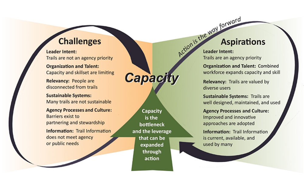 Challenges and aspirations graphic