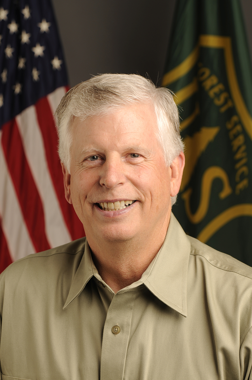 A photo of Forest Service chief Tom Tidwell