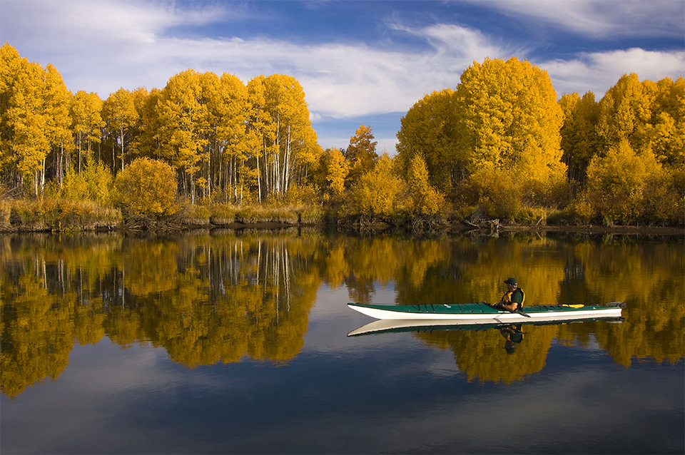A photo of the The Deschutes National Forest in fall.