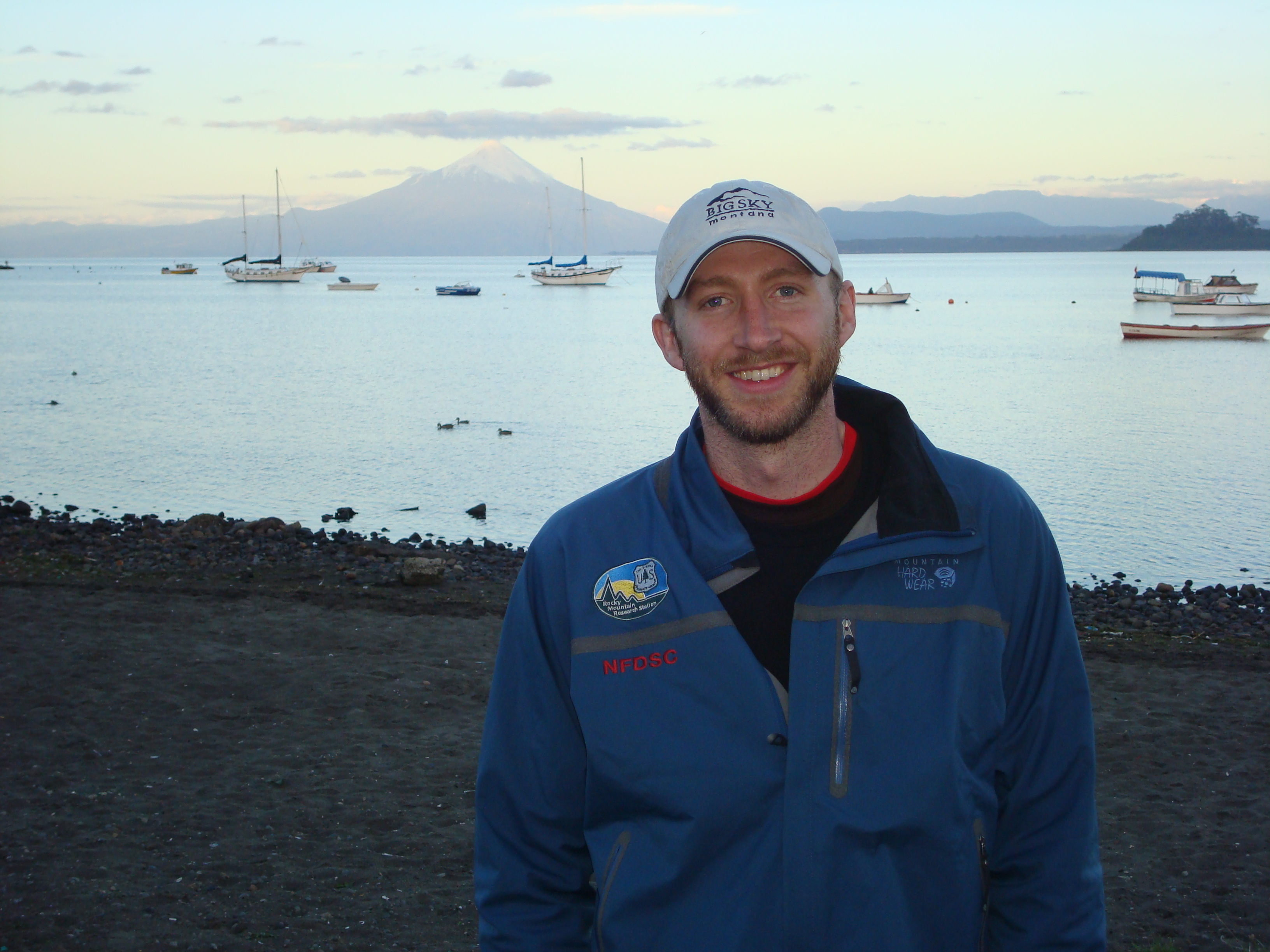 Research forester Matthew Thompson