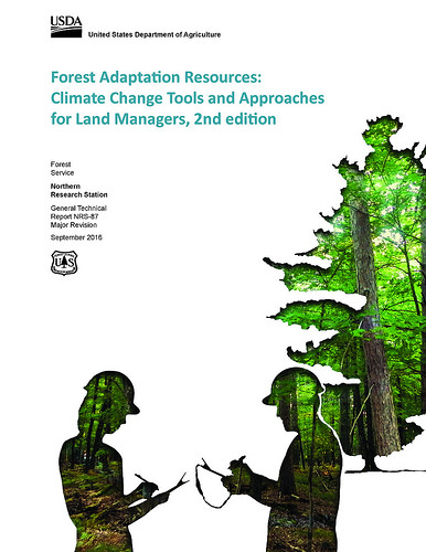 A cover for the the Forest Adaptation Resources: Climate Change Tools and Approaches for Land Managers