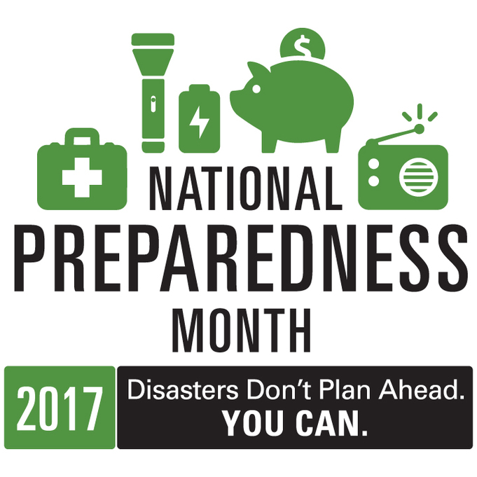Logo for 2017 National Preparedness Month