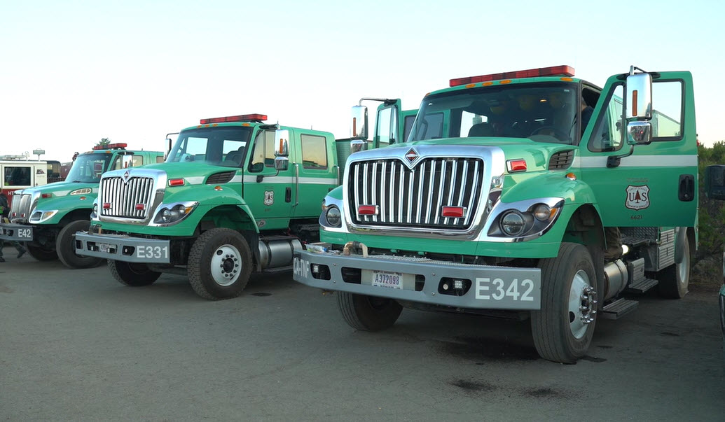 Forest Service engines