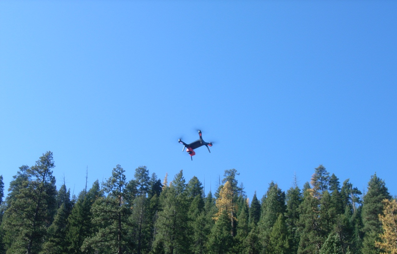 UAS used to gather aerial images and data related to abandoned mine sites on National Forest System lands in Oregon