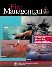 Cover of Fire Management Today Volume 58, Issue 04