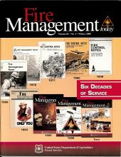 Cover of Fire Management Today Volume 60, Issue 01