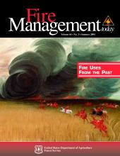 Cover of Fire Management Today Volume 64, Issue 03