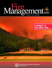 Cover of Fire Management Today Volume 64, Issue 04