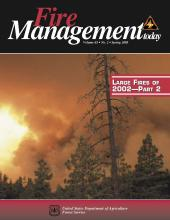 Cover of Fire Management Today Volume 65, Issue 02