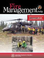 Cover of Fire Management Today Volume 69, Issue 04