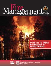 Cover of Fire Management Today Volume 73, Issue 04
