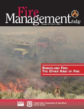 Cover of Fire Management Today Volume 74, Issue 02