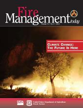 Cover of Fire Management Today Volume 74, Issue 03