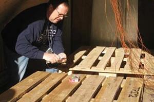 Heat Treating Wooden Ammunition  Pallets for Invasive Species