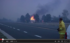A still from the video creating fire adapted communities by National Fire Protection Association (NFPA)