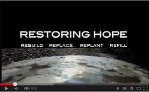 A still of forest service video Restoring Hope