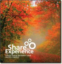 A photo of the Share the Experience photo contest. Official Federal Recreation Lands photo contest.