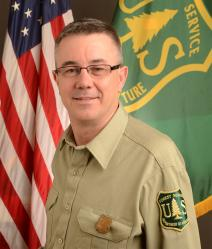 A photo of forest service chief Tony Tooke