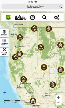 Digitally Discover Your Public Lands Using The New Forest Service - Us public lands map