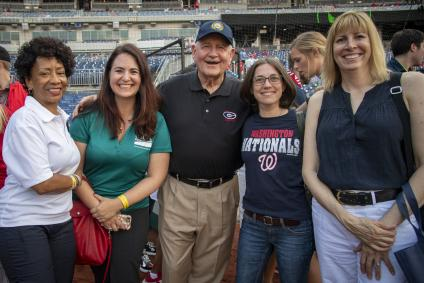 Group photo with Sonny Perdue