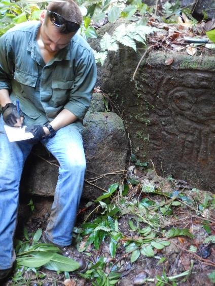 Raymond enjoys going into the jungle and finding a rock art site or an artifact that no one has seen in hundreds of years.